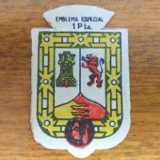 Militaria: EMBLEMA AUXILIO SOCIAL, ESPECIAL 1 PTS, SERIE X, Nº 41, PEÑAFIEL. Lote 236505365