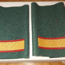 Militaria: HOMBRERAS O MANGUITOS CABO 1º - UNIFORME CAMPAÑA GC. Lote 236834440