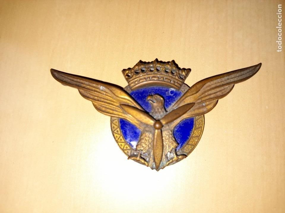 INSIGNIA PILOTO AVIACION CIVIL AÑOS 50 (Militar - Insignias Militares Españolas y Pins)