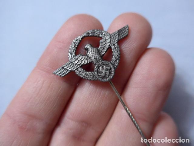 Militaria: * Lote 3 antigua insignia emblema aleman de II guerra mundial, a identificar, alemania. ZX - Foto 2 - 238002390
