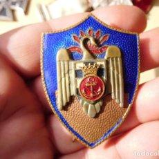 Militaria: PLACA ESMALTADA DEL SEU MARINA NAVAL. Lote 241935605