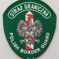 Militaria: PARCHE POLICÍA FRONTERAS, POLONIA (1022). Lote 244774945