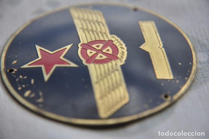 Militaria: EMBLEMA PILOTO REPUBLICANO - Foto 2 - 244869005