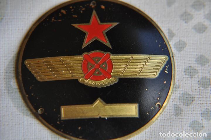 Militaria: EMBLEMA PILOTO REPUBLICANO - Foto 3 - 244869005