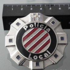 Militaria: PLACA INSIGNIA DE AGUJA GENÉRICA POLICÍA LOCAL CATALUNYA. Lote 246549505