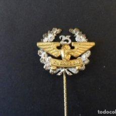 Militaria: ALFILER 25 AÑOS DE SERVICIO EN LOS FERROCARILES IMPERIALES.REP. DE WEIMAR-III REICH. RARA. Lote 246701740