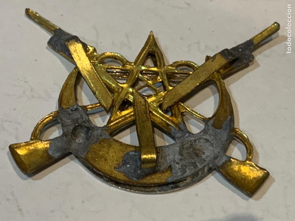 Militaria: Emblema de gorra Tiradores de IFNI - Foto 3 - 246749640