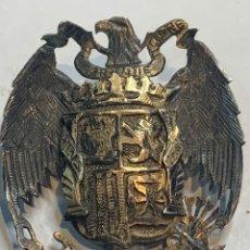 Militaria: INSIGNIA PLATA DE JOYERÍA ÉPOCA GUERRA CIVIL - ÁGUILA DE SAN JUAN PLATA CON FECHA 28/03/1939. Lote 248423890