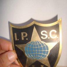 Militaria: GRAN CHAPA I.P.S.C. D V C INTERNATIONAL PRACTICAL SHOOTING CONFEDERATION , DE TIRO. Lote 249319820