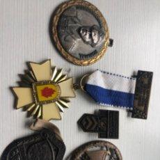 Militaria: LOTE 5 MEDALLAS MILITARES 1930, 1928, RARAS Y ESCASAS, VER FOTOS. Lote 252499145