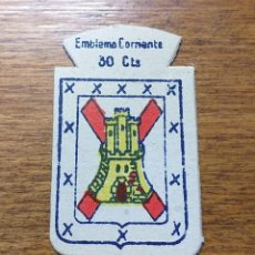 Militaria: EMBLEMA AUXILIO SOCIAL, CORRIENTE 30 CTS, SERIE X, Nº 29, LINARES. Lote 253859855