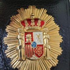 Militaria: PLACA DE PERITO JUDICIAL CON CARTERA DE PIEL CON DIFERENTES CONPARTIMENTOS. Lote 253913985