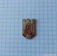 Militaria: INSIGNIA CUERPOS DE SEGURIDAD DE POSGUERRA, 2 X 1,2 CM. Lote 254357460