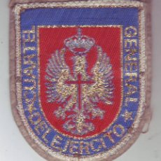 Militaria: DISTINTIVO DE DESTINO - CUARTEL GENERAL DEL EJERCITO - PARCHE. Lote 158295666
