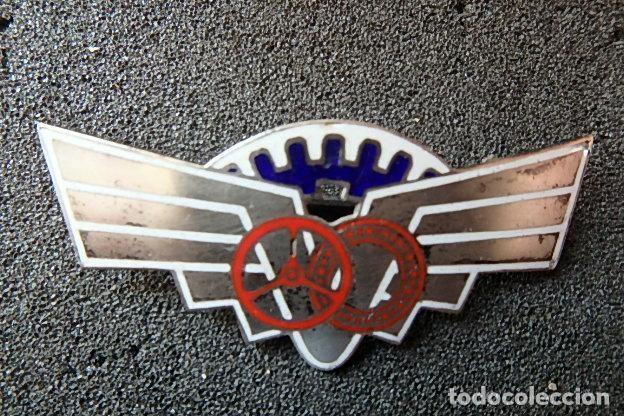 Militaria: (JX-210407)Distintivo en plata de Especialista en Automovilismo. - Foto 2 - 256002125