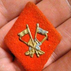 Militaria: ROMBO PAÑO CABALLERIA EJERCITO ESPAÑOL ANTIGUOS AÑOS 40. Lote 257329455