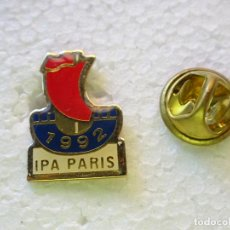 Militaria: PIN POLICIAL. INTERNATIONAL POLICE ASSOCIATION IPA. ASOCIACIÓN INTERNACIONAL POLICÍA PARIS 1992. Lote 257332815