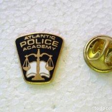 Militaria: PIN POLICIAL. POLICÍA DE ESTADOS UNIDOS. ATLANTIC POLICE ACADEMY. Lote 257333060