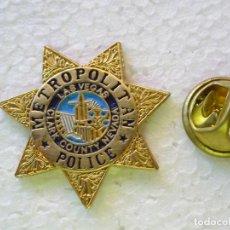 Militaria: PIN POLICIAL. POLICÍA DE ESTADOS UNIDOS. METROPOLITAN POLICE DE LAS VEGAS, NEVADA. Lote 257333250