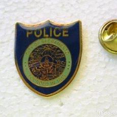 Militaria: PIN POLICIAL. POLICÍA DE ESTADOS UNIDOS. CITY OF SACRAMENTO PLACA ESCUDO. Lote 257333740