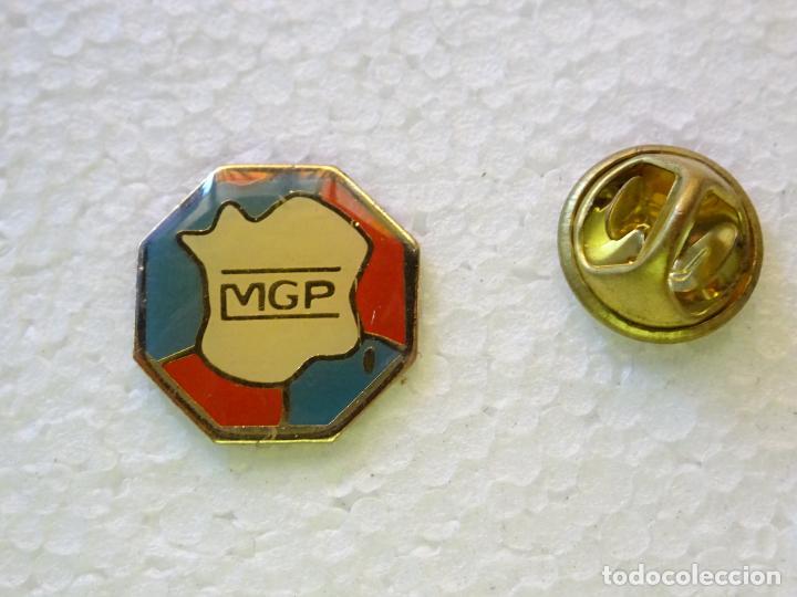 PIN POLICIAL. POLICÍA DE FRANCIA. MUTUA DE FUERZAS DE SEGURIDAD DEL ESTADO MGP (Militar - Insignias Militares Internacionales y Pins)