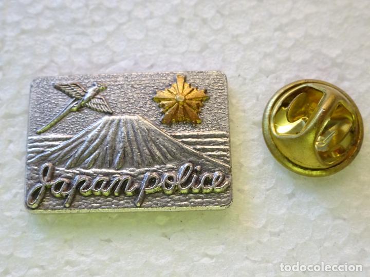 PIN POLICIAL. POLICÍA DE JAPÓN. JAPAN POLICE (Militar - Insignias Militares Internacionales y Pins)