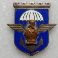 Militaria: INSIGNIA 17° REGIMIENTO DE PARACAIDISTA FRANCES. Lote 257442575