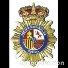 Militaria: PLACA PARA CARTERA DE POLICÍA NACIONAL - 9 CM X 7,5 CM. Lote 287972628