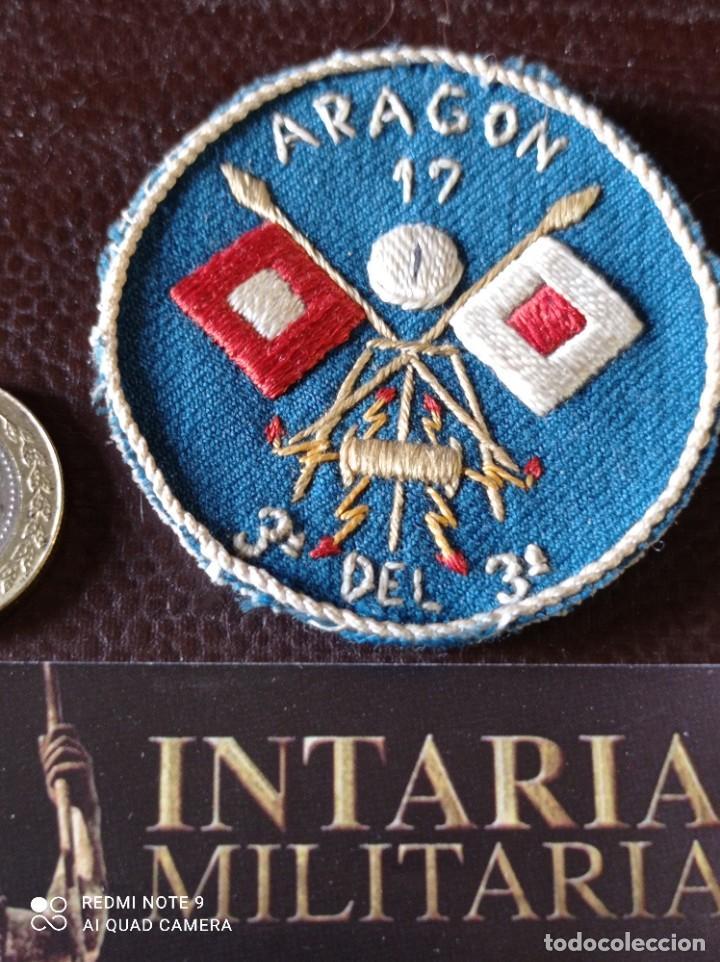 DISTINTIVO DE ESPECIALIDAD UNIDAD DE ARAGÓN GUERRA CIVIL (Militar - Insignias Militares Españolas y Pins)