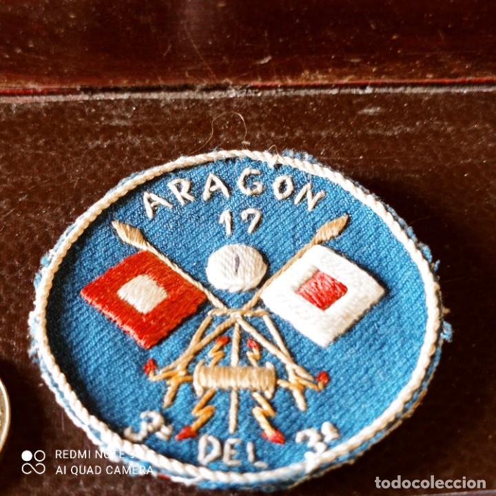 Militaria: Distintivo de especialidad unidad de Aragón guerra civil - Foto 2 - 260804995