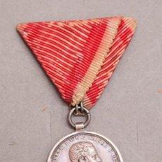 Militaria: MEDALLA A LA VALNETÍA - EJÉRCITO HÚNGARO - KAISER FRANZ JOSEPH 1914-1916. Lote 263784790
