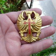 Militaria: EMBLEMA AGUILA DE CASCO - Z 42 - TRUBIA - AGUILA CASCO EPOCA FRANCO. Lote 264539754