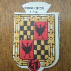 Militaria: EMBLEMA AUXILIO SOCIAL, ESPECIAL 1 PTS, SERIE B, Nº 267, YBARTOLA. Lote 266001598