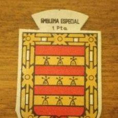 Militaria: EMBLEMA AUXILIO SOCIAL, ESPECIAL 1 PTS, SERIE B, Nº 271, ARMINIOS. Lote 266002553