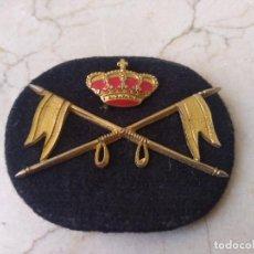 Militaria: EMBLEMA DE BOINA DE CABALLERIA. MILITAR. Lote 266226983
