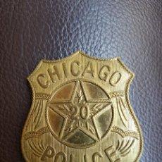 Militaria: INSIGNIA CHICAGO POLICE. Lote 266768754