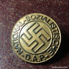Militaria: ORIGINAL CHAPA DE PARTIDO N.S.D.A.P. ( UN MODELO DIFÍCIL DE CONSEGUIR ). Lote 268927619