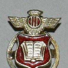 Militaria: INSIGNIA DE SOLAPA DEL COLEGIO NUESTRA SEÑORA DEL LORETO, HUERFANOS DEL EJERCITO DEL AIRE, MIDE 1,8. Lote 269067533