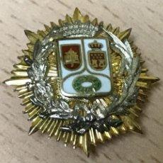 Militaria: PLACA MINIATURA INSIGNIA DE SOLAPA DE FISCAL DE LA COMUNIDAD DE MADRID, ESMALTADA A FUEGO, MIDE 2,4. Lote 269203998