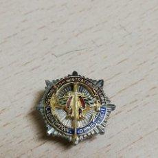 Militaria: INSIGNIA EN MINIATURA DE PLACA DE GESTORES ADMINISTRATIVOS DE ESPAÑA, LABOR IMPROBUS OMNIA VINCIT, M. Lote 269207863