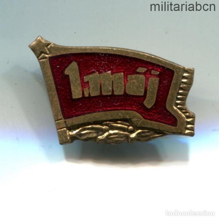 REPÚBLICA SOCIALISTA DE CHECOSLOVAQUIA. INSIGNIA DE SOLAPA DEL 1º DE MAYO DE 1953. (Militar - Insignias Militares Internacionales y Pins)
