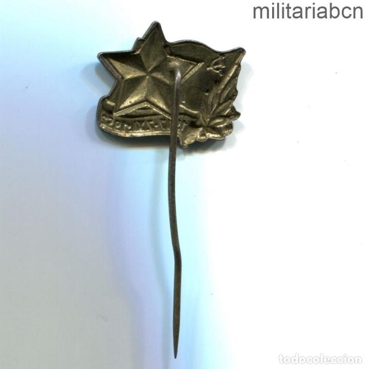 Militaria: República Socialista de Checoslovaquia. Insignia solapa 35 Aniversario del KCP Partido Comunista - Foto 2 - 269361948