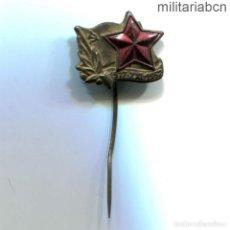 Militaria: REPÚBLICA SOCIALISTA DE CHECOSLOVAQUIA. INSIGNIA SOLAPA 35 ANIVERSARIO DEL KCP PARTIDO COMUNISTA. Lote 269361948
