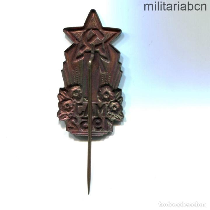 Militaria: República Socialista de Checoslovaquia. Insignia de solapa del 1º de Mayo de 1952. - Foto 2 - 269368203