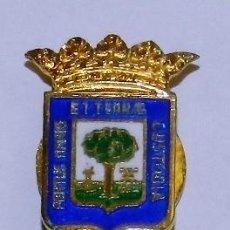 Militaria: INSIGNIA DE SOLAPA DE HUELVA, ESMALTADA A FUEGO, MIDE 1,8 CMS.. Lote 269616753