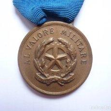 Militaria: ITALIA: MEDALLA AL VALOR MILITAR, CATEGORÍA DE BRONCE. VALOR EN COMBATE.. Lote 275323303