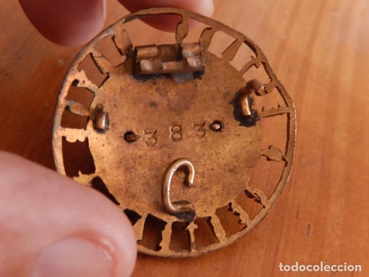 Militaria: Distintivo del Estado Mayor Central. Época de Franco. Numerado. - Foto 10 - 275900488