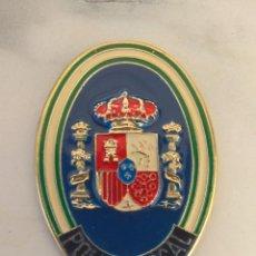 Militaria: PLACA METÁLICA POLICÍA LOCAL ANDALUCÍA GENÉRICA MIDE 55X 4 CM. Lote 276210368