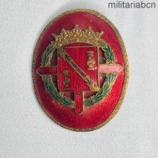 Militaria: INSIGNIA O PLACA DE DESTINO DEL REGIMIENTO DE LA GUARDIA DE S. E. EL GENERAL FRANCO. Lote 276260953