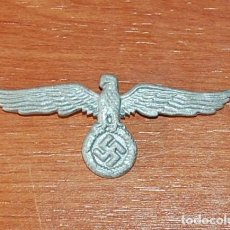 Militaria: AGUILA INSIGNIA DE GORRA MILITAR - TERCER REICH. Lote 277233128